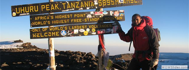 uhuru summit of mount kilimanjaro